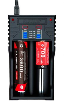 Klarus K2 Batterilader